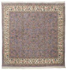 10x10 sarouk design square rug
