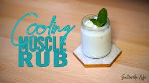 4 ing diy cooling muscle rub