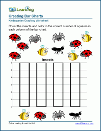 Preschool Charts And Graphs Free Preschool Kindergarten Graphing Worksheets K5 Learning