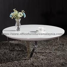 contemporary glass top coffee table meja kopi pejabat malaysia kuala lumpur batang kali puchong w1