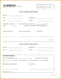 Employee Time Off Request Form Template Metabots Co