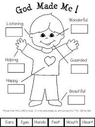 God Loves Me Coloring Pages Free Also God Made Me Coloring Page Free