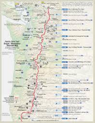 17 Proper Pacific Crest Trail Mileage Chart