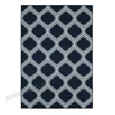 allen roth 2017 outdoor blue indoor outdoor moroccan area rug common