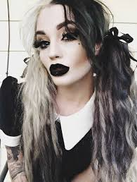nu goth fashion tip number 7 victoria cbell hair alternative style