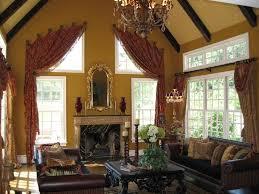 Mediterranean Living Room Design Mediterranean Living Room With Chandelier By Jere Bradwell