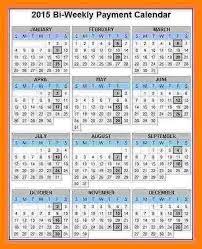 5 Bi Weekly Payroll Calendar Sles Of Paystubs Payroll