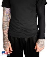 Full Tattoo Cover Arm Sleeve Black