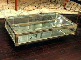 coffee table with display top display coffee table for display coffee table glass display coffee coffee table with display