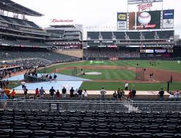 Twins Stadium Seating Chart Target Field Section 109 Seat Views Seatgeek