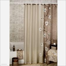 white flower curtain pole