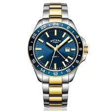 men s rotary havana gmt two tone watch gb05082 05 michaels online