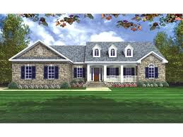 ranch style house plans traditional country style home with covered front porch and dormers ranch style ranch style house plans