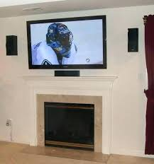 how to install a wall mounted tv mounting on fireplace fireplace best tips for mounting fireplace