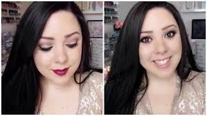 holiday makeup tutorial sedona lace luxe essentials