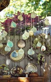 Decorating With Teacups And Saucers Dishfunctional Designs Crafts Home Decor Made With Teacups 11