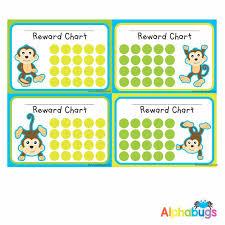 School Reward Chart Monkey Mischief Alphabugs
