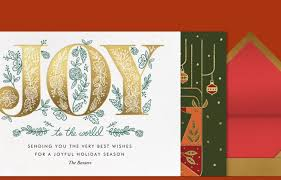 online christmas card christmas cards online at paperless post