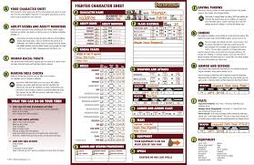 best pathfinder character sheet you ll ever use fatal friends pathfinder roleplaying game beginner box
