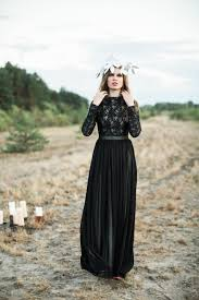 wedding gowns black wedding gowns with sleeves the great black