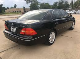 2001 Used Lexus LS 430 4dr Sedan at Car Guys Serving Houston, TX ...