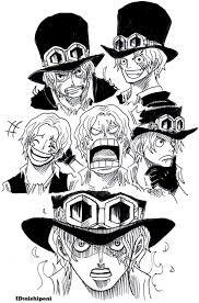 ぽにお At Nishiponi твиттер Sabo One Piece ワンピース 漫画