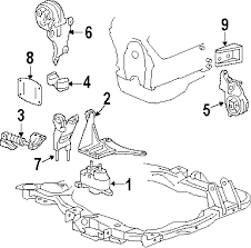 2006 pontiac g6 parts gm parts department buy genuine gm auto 5 shown see all 8 part diagrams