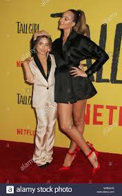 """Sabrina Carpenter, Ava Michelle 09/09/2019 The Los Angeles Special  Screening of """"Tall Girl"""" held at the Netflix in Los Angeles, CA Photo by Y.  Abe / HNW/PictureLux Stock Photo - Alamy"""