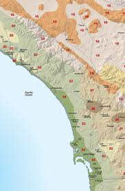 sunset san go coastal climate map