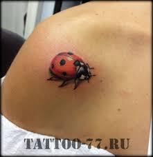 маленькая тату с божьей коровкой фото татуировок