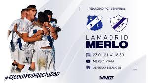 EN VIVO | General Lamadrid vs Deportivo Merlo - Reducido - Semifinal -  YouTube