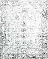 gray and white area rug machine woven reviews black geometric
