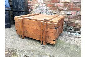 toy chest coffee table wooden military toy trunk box storage rustic vintage coffee table ammo square toy chest coffee table