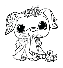 Cute Dog Coloring Pages Online Inspirationa For Kids Line Save 1480