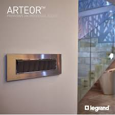 Legrand Lighting Automation Arteor Legrand Switches Sockets Stainless Steel