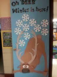 winter door decorating ideas. Frozen Bulliten Boards   Sven Winter Door Decoration Decorating Ideas M