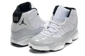 jordan shoes 1 23 for girls. air jordan retro 11(uppers) + 13(soles) - white / grey shoes 1 23 for girls f