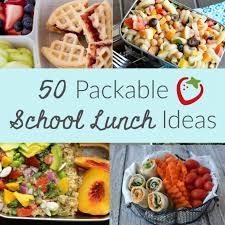 50 packable lunch ideas super