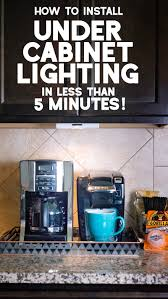 Young House Love Under Cabinet Lighting Install Under Cabinet Lighting In Less Than 5 Minutes W