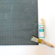 Pegboard Kitchen Chalkboard Kitchen Organizational Pegboard Project By Decoart