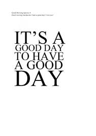 Today Was A Good Day Quotes Interesting 48 Good Morning Quotes To Get A Fresh Start For A New Day