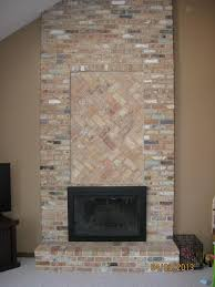 diy tile over brick fireplace fireplace ideas for luxury refacing a brick fireplace with stone veneer