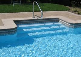 inground pool steps review steps for inground pool with liner p54