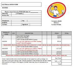 Electrical Invoice Template Free 100 Free Electrical Invoice Templates Download Demplates 18