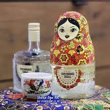 Rượu Búp bê Nga với phong cách... - Rượu Vodka Nga nhập khẩu