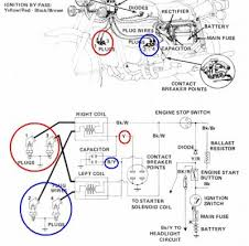 dyna coil on gl1000 77 stock • gl1000 information questions here s a link to some reading randakks com techtip38 htm and here s the original schematic so you can identify which wires go to what parts