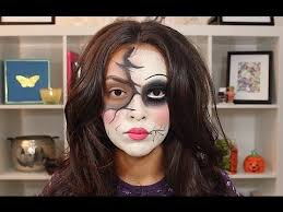 broken doll makeup tutorial trinaduhra