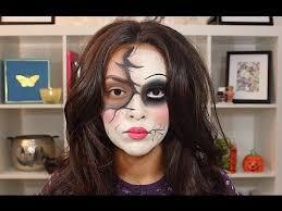broken doll makeup tutorial trinaduhra