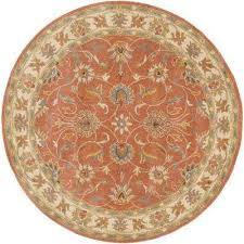 john rust 6 ft x 6 ft round area rug