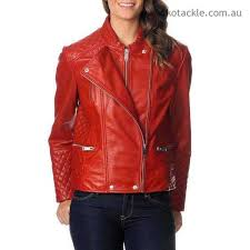 excelled women s red leather motorcycle jacket jackets blazers 8bxpbjgb
